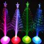 Centrde Mesa Arbolito De Navidad Luminoso X 6 Unidades