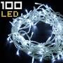 Luz Navidad Led 7 Mt X 100 Leds P/arbol 8 Efectos De Luces
