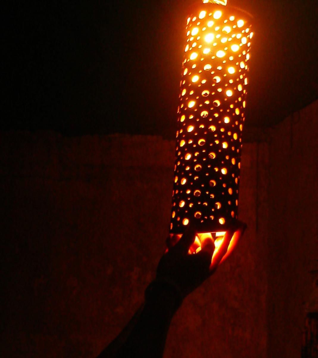 Lamparas de bambu - Lamparas de pie artesanales ...