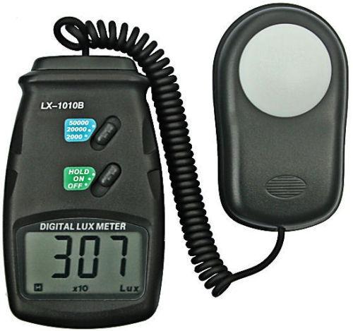 Luxómetro - Medidor De Luz Digital Con 3 Rangos De Medición
