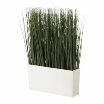 Ikea - Planta Artificial Fejka Hierba En Maceta Rectangular