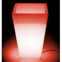Macetas Luminosas 0,98cm X 0,48cm Varios Led Colores Int/ext