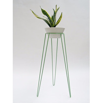 Soporte Metal/patas Hierro Para Plantas Estilo Minimalista
