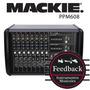 Mackie Ppm608 Mixer Potenciada 500w X 2, 12 Canales 8xlr 4st