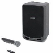Samson Xp106w Bafle Portatil Rec. C/mic.inalambrico 100watts