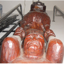 Totem Decoracion Azteca Mexico