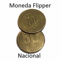 Moneda Flipper (50 Centavos) Nacional