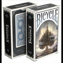 Cartas Bicycle Kingdoms Azules