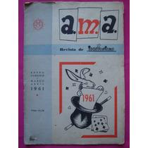 Ama Revista De Ilusionismo N° 19 Y 20 Año 1961 - Magia