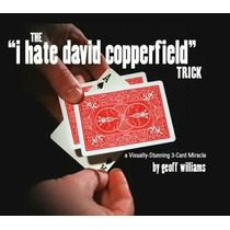 Magia Odio A David Copperfield - Truco De Magia Bicycle