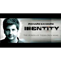 Identity, Gimmick+dvd De Richard Sanders(precio Inigualable)