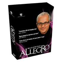 Allegro (4 Dvd Set) Por Mago Migue Y Luis De Matos (dvd)