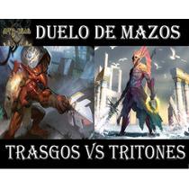 Magic Duelo De Mazos: Trasgos Vs Tritones!!! 120 Cartas!!!!