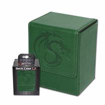 Bcw Deck Case Lx Green Para Magic The Gathering Flipbox
