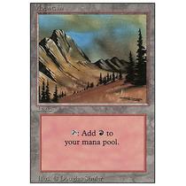 Mountain #292 Revised - Magic Omega