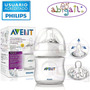Avent Natural Mamadera 125ml - Distribuidor Oficial -