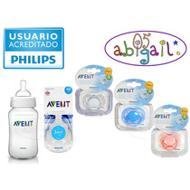 Philips Avent Set Mamadera 260ml+ 2 Tetinas + 1 Chupete