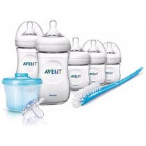 Avent Set Recién Nacido Inicial Línea Natural 8 Productos