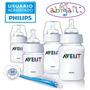 Philips Avent Set Recien Nacidos 4 Mamaderas+cepillo+chupete
