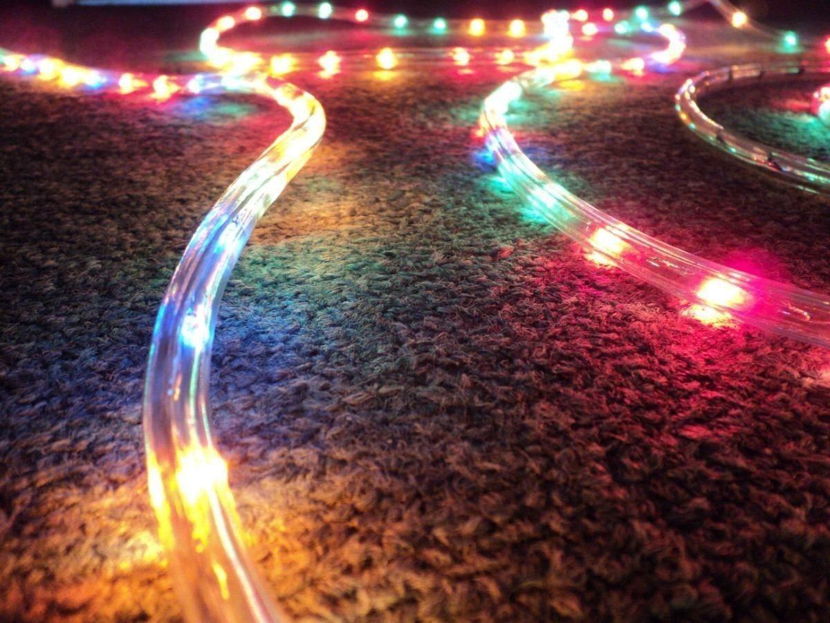 luces de navidad de exterior: