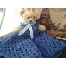 Manta De Apego Tejida Al Crochet Ideal Baby Shower