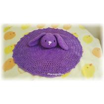 Mantas De Apego Crochet Con Amigurumi