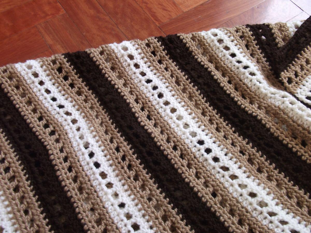 Mantas tejidas a crochet - Imagui