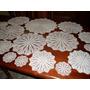 499- Juego 17 Carpetas De Hilo Impecables 50cm,36cm,26cm,12c