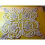 Centro Mesa Crochet Antiguo Hilo 45 Cm Crudo 2 Tonos