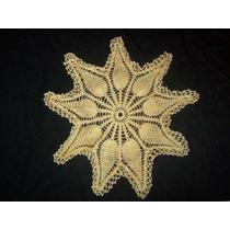 Carpeta Tejida Al Crochet.