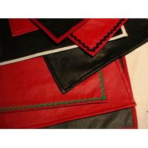 Mantel Individual Ecocuero Cuero Cuerina Con Felpa