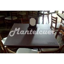 Mantel Ecocuero Doble Faz- 70x70cm - 3mm Espesor!!!!