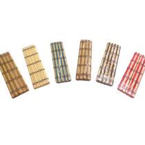 Set De Indivinduales De Bambu En Varios Colores X 4 Unidades