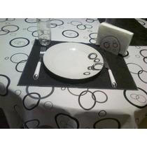 Mantel De Eco-cuero Con Felpa De 1,40 X 1,80