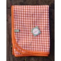 Mantel De Diseño Picnic Naranja