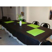 Mantel Ecocuer Con Felpa 140x140 Oferta $ 89 Sup Resistentes