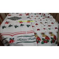 Mantel Rectangular Navidad 2,50x1,40m Polietileno Pesado