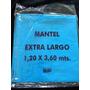 Mantel Plástico De 3,60 X 1,20 Son 7un X $ 110 En Belgrano.
