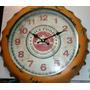 Reloj Chapa De Botella Vintage 34 Cm*