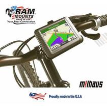 Soporte Gps Ram P/ Garmin Nuvi En Manillar Moto O Bicicleta