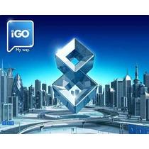 Sd Microsd Igo Deluxe 2016 Full Mapa Gps Argentina Brasil +