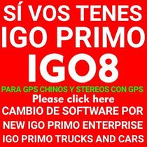 Actualizar Con Nuevos Mapas Para Igo8 Igo Primo En Gps Chino