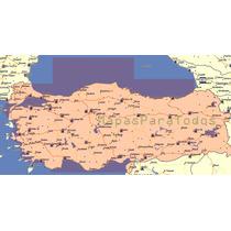 Mapa 2016 De Turquía Para Garmin
