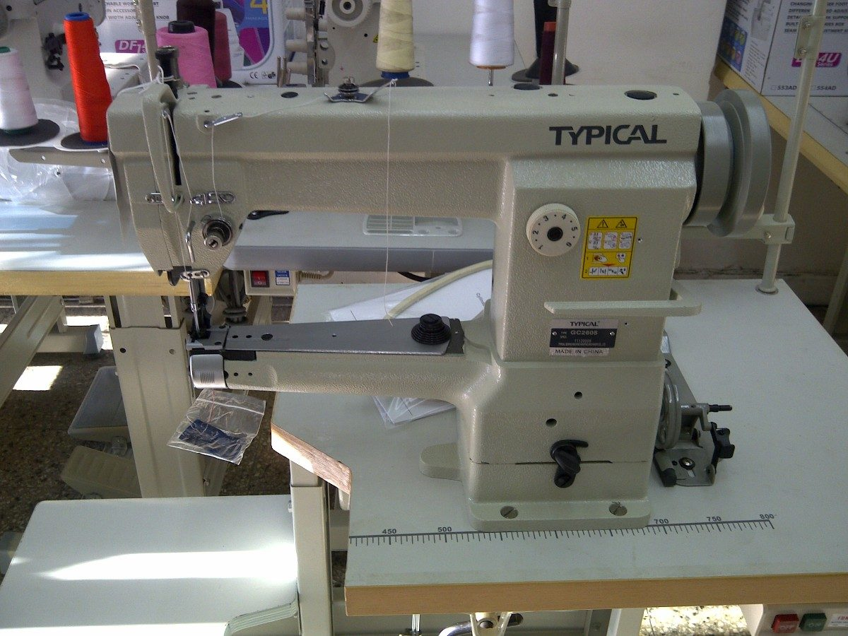 Mquinas De Coser Triple Arrastre En Industria Textil