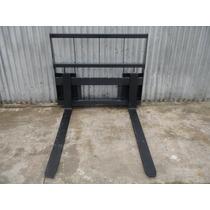 Porta Pallets Para Pala Frontal, Uñas Super Largas 1.55 Mts