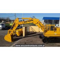 Excavadora Tortone Fiat 6 Cilindros Balde 2.3m Financio Mcj