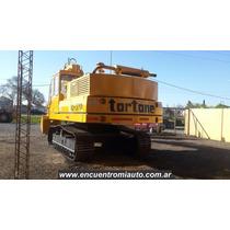 Excavadora Tortone Fiat 6 Cilindros Balde 2.3m Financio Mcj2