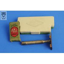 Afeitadora Raz U Rex Caja Baquelita Filo Concavex Antigua