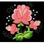 Diseños Matrices P/ Máquina De Bordar Floral Folk Art A