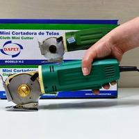 Cortadora De Tela Mini Cutter . Maquina Para Cortar Telas